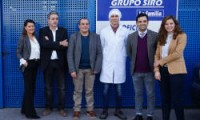 VISITA DEL ALCALDE DE PATERNA A LA PLANTA DE PRODUCCION DEL GRUPO SIRO